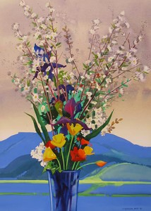 "San Juan Mountain Still-Life  34"" X 26"""