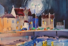 Study, Late Evening, The Gyles, Pittenweem Harbor