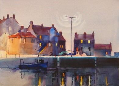 Late Evening, The Gyles, Pittenweem Harbor
