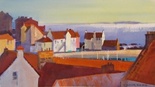Rooftops & Harbor View, Pittenweem
