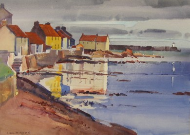 View from Second Summer, Pittenweem