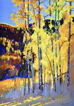 Backlight, Autumn Aspen