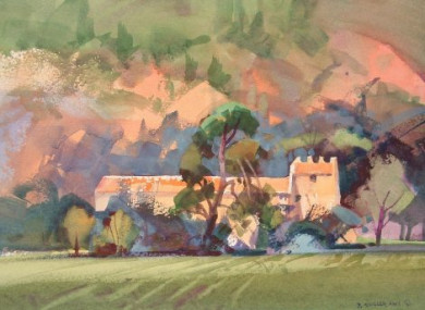 Chateau de Borde-Rouge (study)