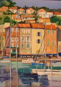 Harbor of Cassis, View #1