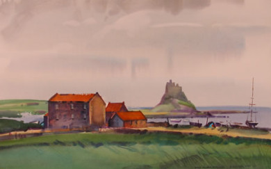 Holy Island Harbor