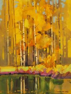 "Autumn Patterns Near Sunnyside #2    16"" X 12"""