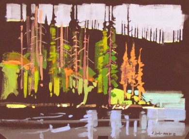 Tapestry, Regan Lake