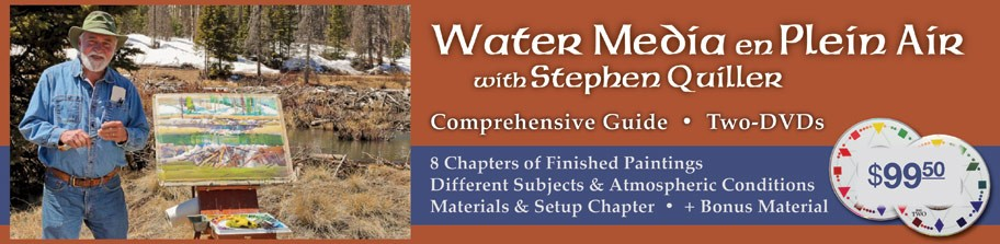 Water Media en Plein Air: A Complete DVD Guide Video Instruction