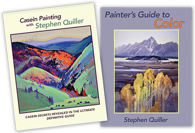 Quiller Watercolor Painting Guide Books