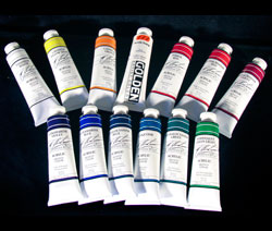 Quiller Acrylic Paints